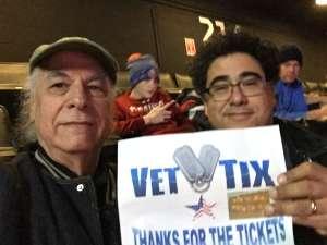Stuart attended New York Islanders vs. Vegas Golden Knights - NHL on Dec 5th 2019 via VetTix