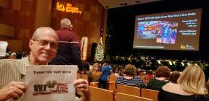 FRANK attended The Phoenix Symphony Presents Home Alone in Concert on Dec 7th 2019 via VetTix