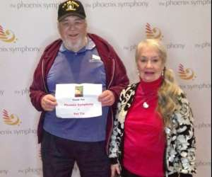 Arnold attended The Phoenix Symphony Presents Home Alone in Concert on Dec 7th 2019 via VetTix