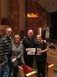 William attended The Phoenix Symphony Presents Home Alone in Concert on Dec 7th 2019 via VetTix