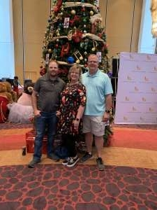 Johnny attended The Phoenix Symphony Presents Home Alone in Concert on Dec 7th 2019 via VetTix