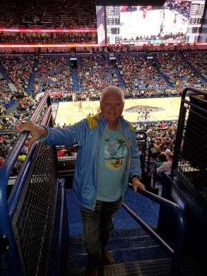 Paul attended New Orleans Pelicans vs. Phoenix Suns - NBA on Dec 5th 2019 via VetTix