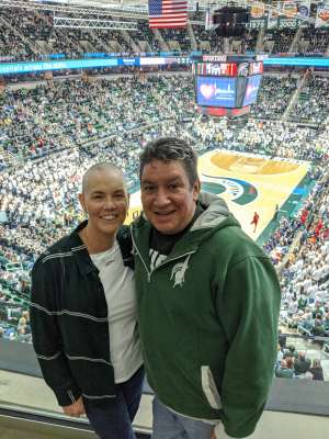 Pat attended Michigan State Spartans vs. Western Michigan- NCAA Men's Basketball on Dec 29th 2019 via VetTix