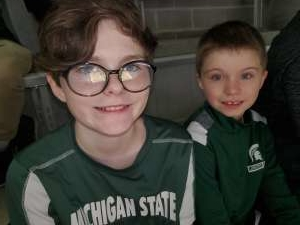 Charles attended Michigan State Spartans vs. Western Michigan- NCAA Men's Basketball on Dec 29th 2019 via VetTix