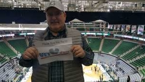 Timothy attended Michigan State Spartans vs. Western Michigan- NCAA Men's Basketball on Dec 29th 2019 via VetTix