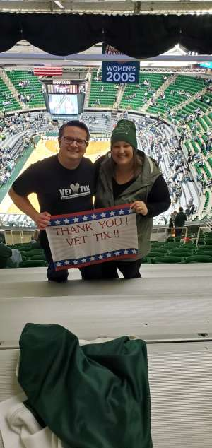 EMIL attended Michigan State Spartans vs. Western Michigan- NCAA Men's Basketball on Dec 29th 2019 via VetTix