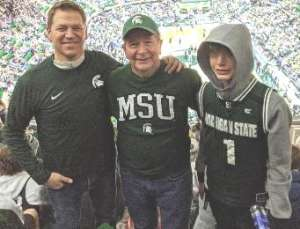 Richard Whipple attended Michigan State Spartans vs. Western Michigan- NCAA Men's Basketball on Dec 29th 2019 via VetTix