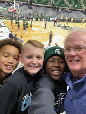 Ralph attended Michigan State Spartans vs. Western Michigan- NCAA Men's Basketball on Dec 29th 2019 via VetTix