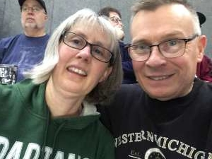 Lloyd attended Michigan State Spartans vs. Western Michigan- NCAA Men's Basketball on Dec 29th 2019 via VetTix