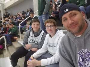 Nickolas attended Michigan State Spartans vs. Western Michigan- NCAA Men's Basketball on Dec 29th 2019 via VetTix