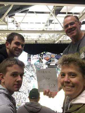 David attended Michigan State Spartans vs. Western Michigan- NCAA Men's Basketball on Dec 29th 2019 via VetTix