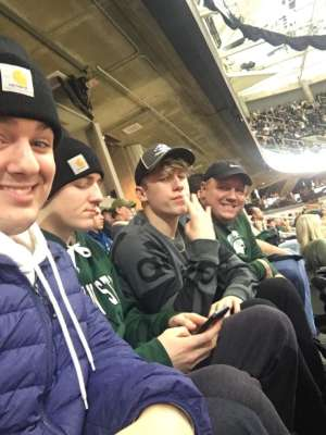 Stephen attended Michigan State Spartans vs. Western Michigan- NCAA Men's Basketball on Dec 29th 2019 via VetTix