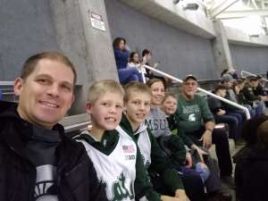 William attended Michigan State Spartans vs. Illinois - NCAA Men's Basketball on Jan 2nd 2020 via VetTix