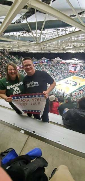Click To Read More Feedback from Michigan State Spartans vs. Illinois - NCAA Men's Basketball