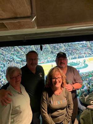 Harold attended Michigan State Spartans vs. Illinois - NCAA Men's Basketball on Jan 2nd 2020 via VetTix