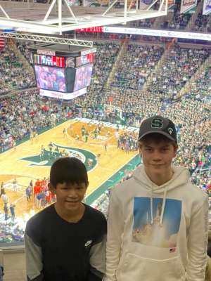 lee attended Michigan State Spartans vs. Illinois - NCAA Men's Basketball on Jan 2nd 2020 via VetTix
