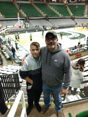 Thomas attended Michigan State Spartans vs. Illinois - NCAA Men's Basketball on Jan 2nd 2020 via VetTix