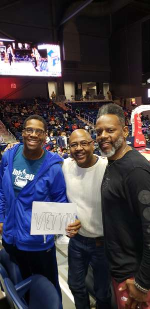 Jeffrey attended Capital City Go-go vs. Maine Red Claws - Nbdl on Dec 27th 2019 via VetTix