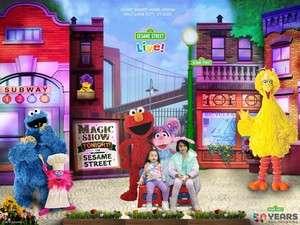 Adam attended Sesame Street Live! Make Your Magic on Jan 11th 2020 via VetTix