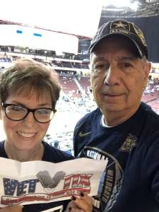 Joe attended Never Forget Tribute Classic 2019 - NCAA Basketball on Dec 14th 2019 via VetTix