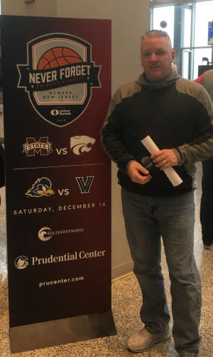 Robert attended Never Forget Tribute Classic 2019 - NCAA Basketball on Dec 14th 2019 via VetTix