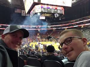 Mark attended Never Forget Tribute Classic 2019 - NCAA Basketball on Dec 14th 2019 via VetTix