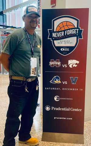 Van attended Never Forget Tribute Classic 2019 - NCAA Basketball on Dec 14th 2019 via VetTix
