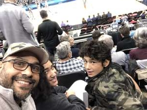 Samuel attended Never Forget Tribute Classic 2019 - NCAA Basketball on Dec 14th 2019 via VetTix