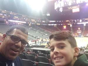 James attended Never Forget Tribute Classic 2019 - NCAA Basketball on Dec 14th 2019 via VetTix