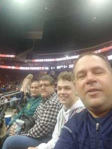 Jason attended Never Forget Tribute Classic 2019 - NCAA Basketball on Dec 14th 2019 via VetTix