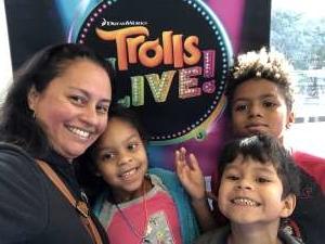 Nathalia attended Trolls Live! - Presented by Vstar Entertainment on Dec 30th 2019 via VetTix