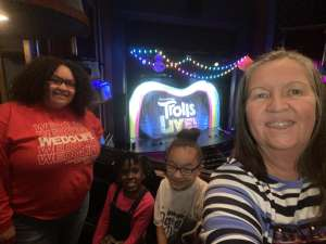 Lisa attended Trolls Live! - Presented by Vstar Entertainment on Dec 30th 2019 via VetTix