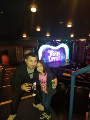Jefferson attended Trolls Live! - Presented by Vstar Entertainment on Dec 30th 2019 via VetTix