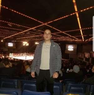RAY attended Combat at the Garden Championship: Kickboxing & MMA on Dec 6th 2019 via VetTix