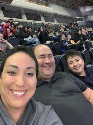 Jorge attended Monster Jam Triple Threat Series on Jan 3rd 2020 via VetTix