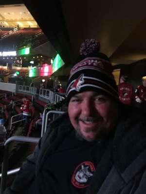 Ray attended Arizona Coyotes vs. Chicago Blackhawks - NHL on Dec 12th 2019 via VetTix