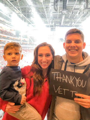 Collin attended Arizona Coyotes vs. Chicago Blackhawks - NHL on Dec 12th 2019 via VetTix