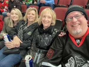 Barry attended Arizona Coyotes vs. Chicago Blackhawks - NHL on Dec 12th 2019 via VetTix