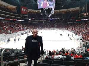 John attended Arizona Coyotes vs. Chicago Blackhawks - NHL on Dec 12th 2019 via VetTix