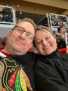Michael attended Arizona Coyotes vs. Chicago Blackhawks - NHL on Dec 12th 2019 via VetTix