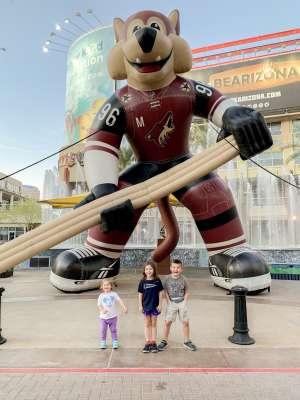 Erica attended Arizona Coyotes vs. Chicago Blackhawks - NHL on Dec 12th 2019 via VetTix