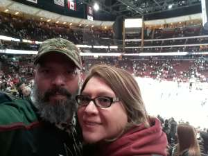 Sergio attended Arizona Coyotes vs. Chicago Blackhawks - NHL on Dec 12th 2019 via VetTix