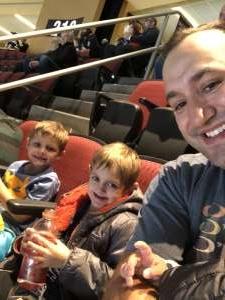 Sheldon attended Arizona Coyotes vs. Chicago Blackhawks - NHL on Dec 12th 2019 via VetTix