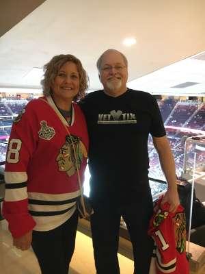 Rob attended Arizona Coyotes vs. Chicago Blackhawks - NHL on Dec 12th 2019 via VetTix