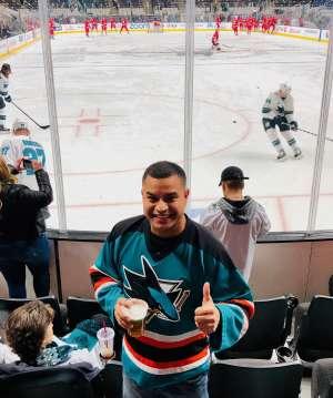 FRANCISCO attended Arizona Coyotes vs. Chicago Blackhawks - NHL on Dec 12th 2019 via VetTix