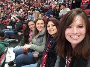 Deanna attended Arizona Coyotes vs. Chicago Blackhawks - NHL on Dec 12th 2019 via VetTix