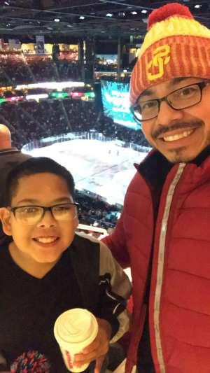 jesse attended Arizona Coyotes vs. Chicago Blackhawks - NHL on Dec 12th 2019 via VetTix