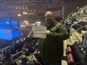 Frank attended 105. 7 the X Nutcracker Christmas Featuring Five Finger Death Punch on Dec 8th 2019 via VetTix