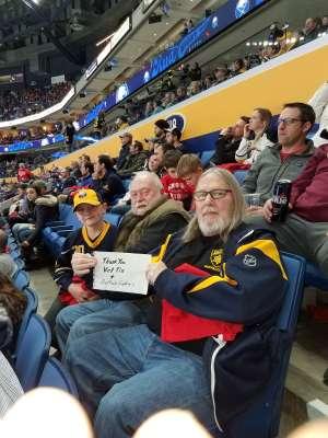 Click To Read More Feedback from Buffalo Sabres vs. Nashville Predators - NHL