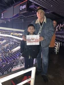 Victor attended Disney on Ice Presents Mickey's Search Party on Jan 16th 2020 via VetTix
